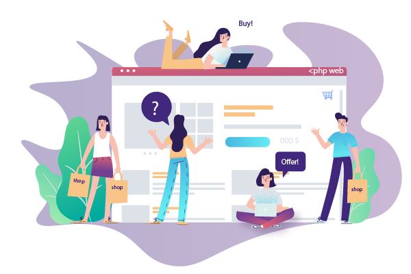 PHP eCommerce Development Services by Soft Suave