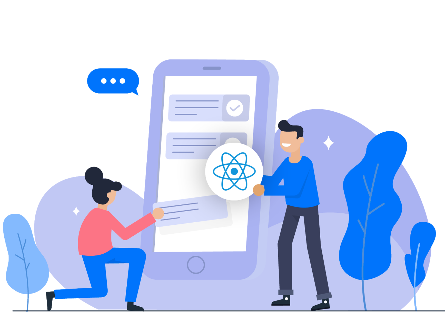 ReactJS Integration with Existing application development soft suave