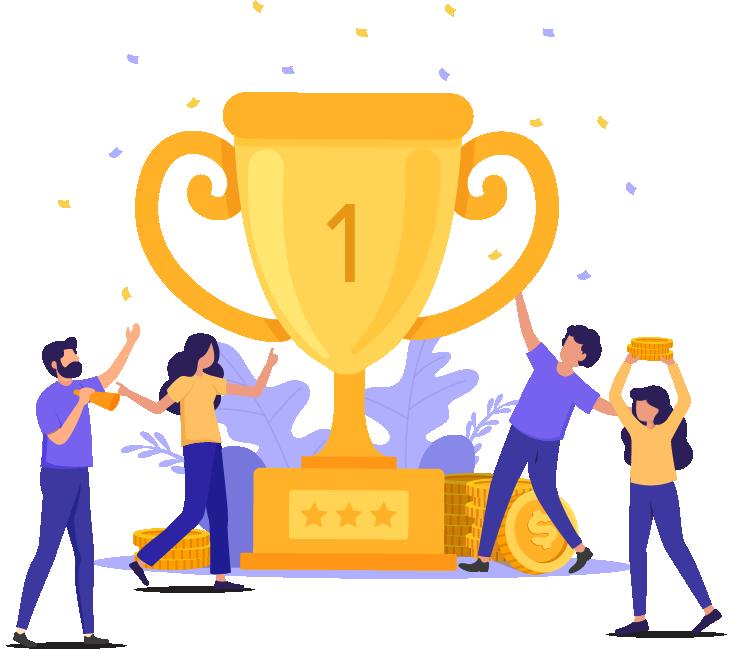 Web application development rewards